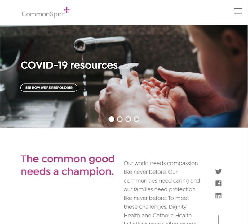 Common Spirit Health - Adobe Foundation Build