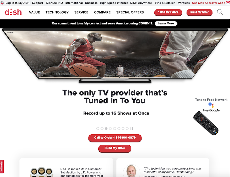 Dish Network - Enterprise Digital Marketing Platform