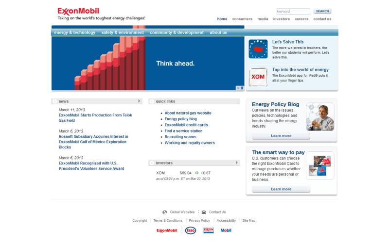 ExxonMobil - LCW/Mobil Industrials Migration