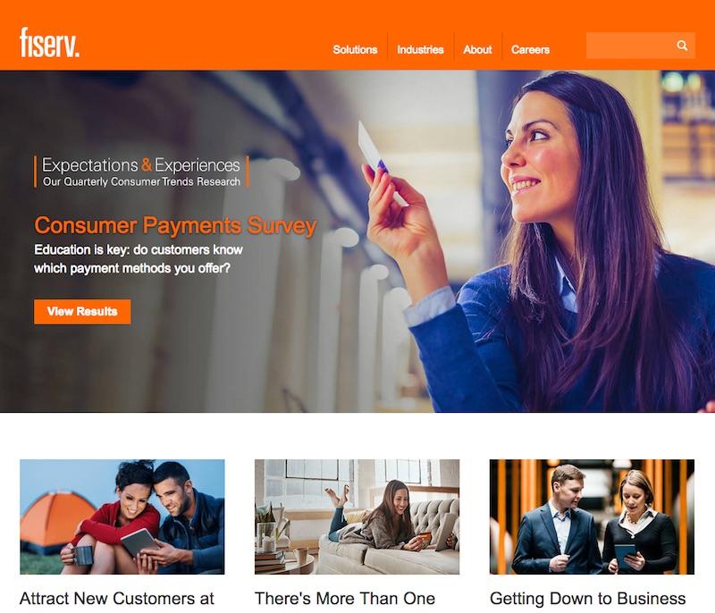 Fiserv - Web Revamp