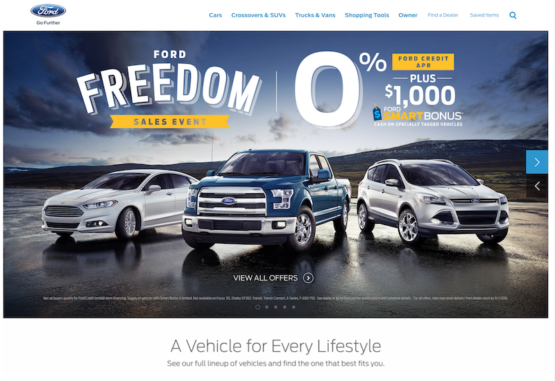 Ford - Adobe Digital Marketing Assessment