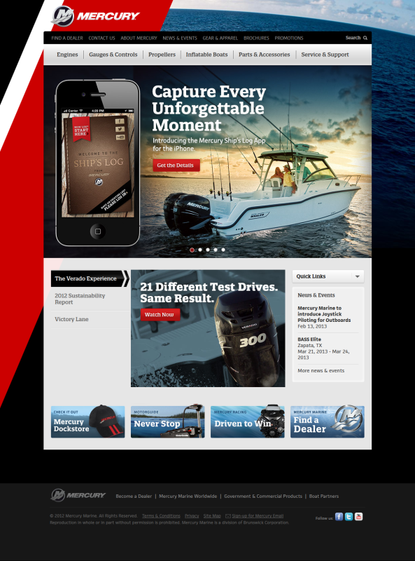 Mercury Marine - SalesForce Integration