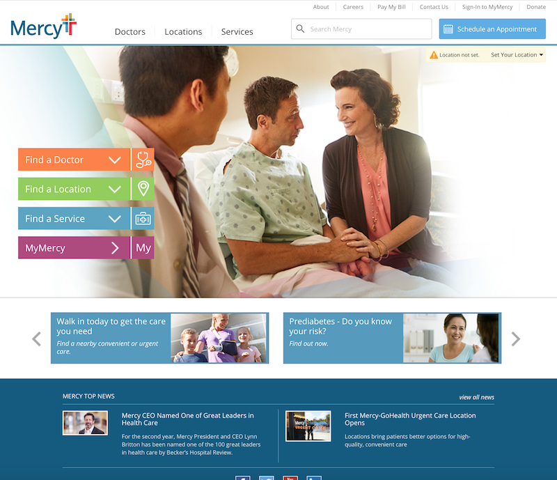 Mercy Health - AEM Assessment