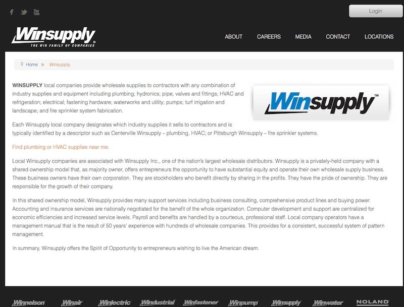 WinSupply - Digital Marketing Platform Selection
