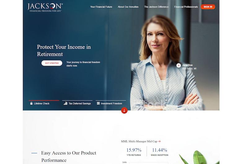 Jackson National - Digital Marketing Strategy