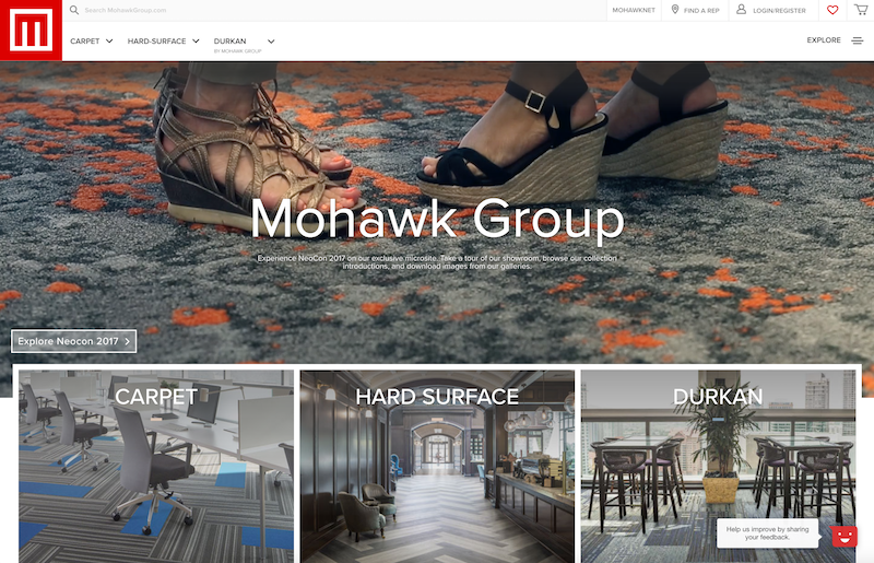 Mohawk Flooring - Analytics Implementation