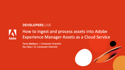 Adobe Dev Live Intro Slide