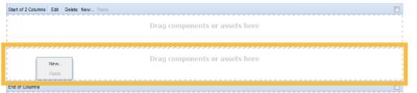 Creating a Column Control in Adobe CQ
