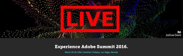 Adobe Summit Live!