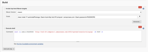 Clearing AEM's JSP Cache in your Jenkins Build